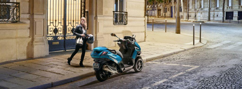 Légende de la ville ! Peugeot Metropolis
