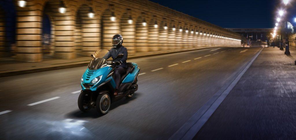 Nouveau Peugeot Metropolis bercy